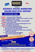 ADVANCE DIGITAL MARKETING ONLINE PRACTICAL SESSION